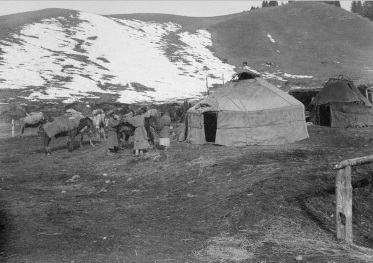 Лагерь возле Бугра-сута