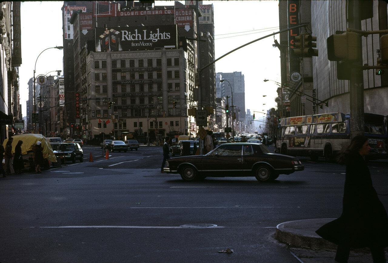 Нью-Йорк. Геральд-сквер
