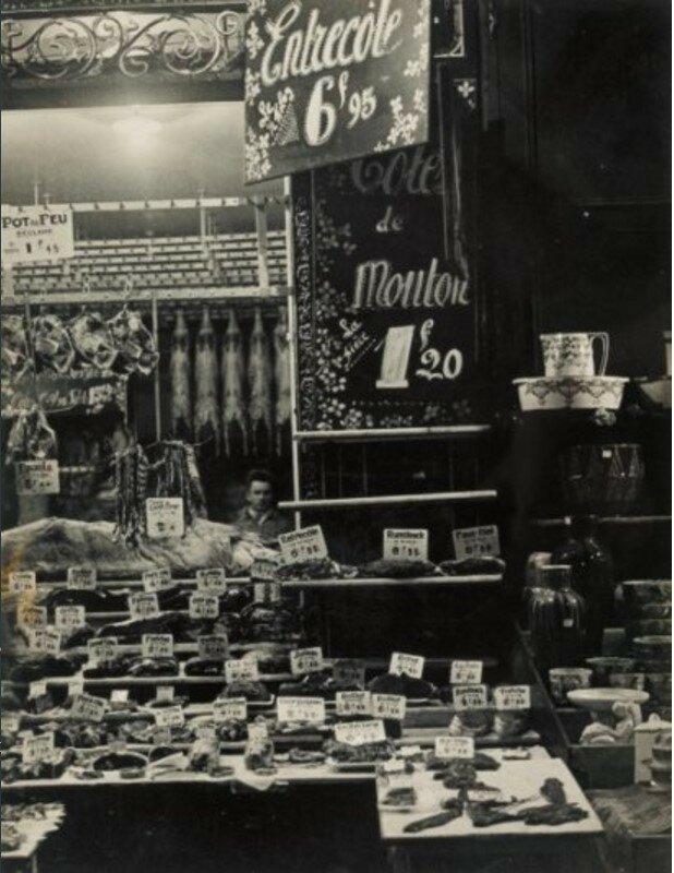 1932. Лавка мясника