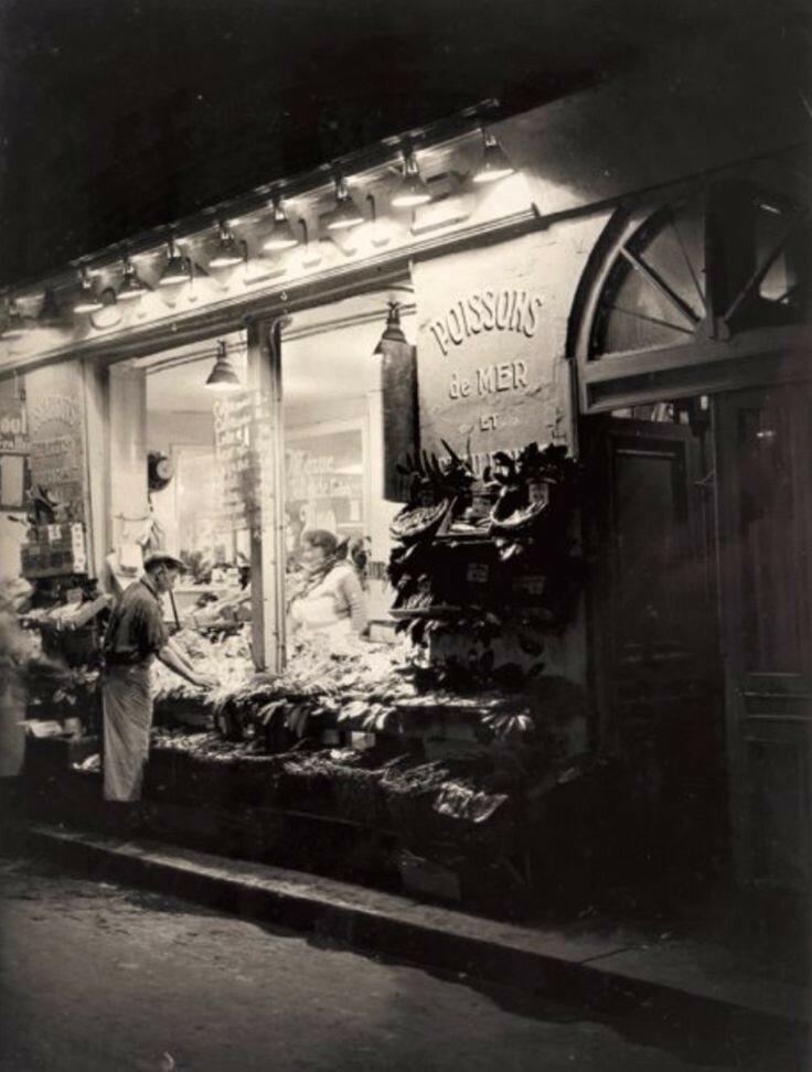 1932. Рыбная лавка