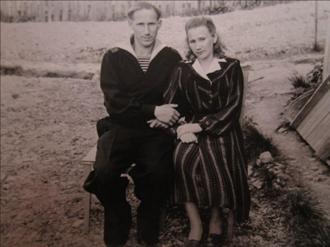 Панфилов Василий Степанович с женой Александрой Ивановной