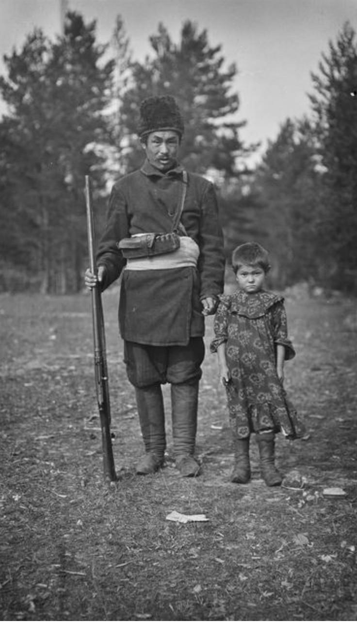 Матвей Аргвусов с дочерью