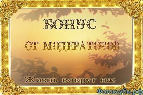 БОНУС ОТ МОДЕРАТОРОВ за 05 апреля 2020 года