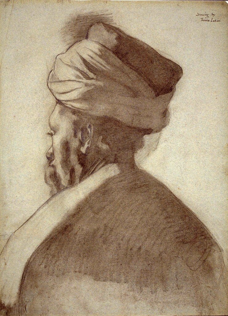 Eakins_-_Man_in_Turban.jpg ок. 1869.jpg