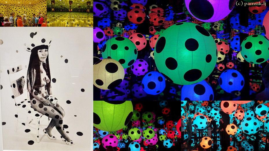 Палата №6 в горошек и в виде тыквы – выставка сумасшедшей японки Яёи Кусамы в HAM -