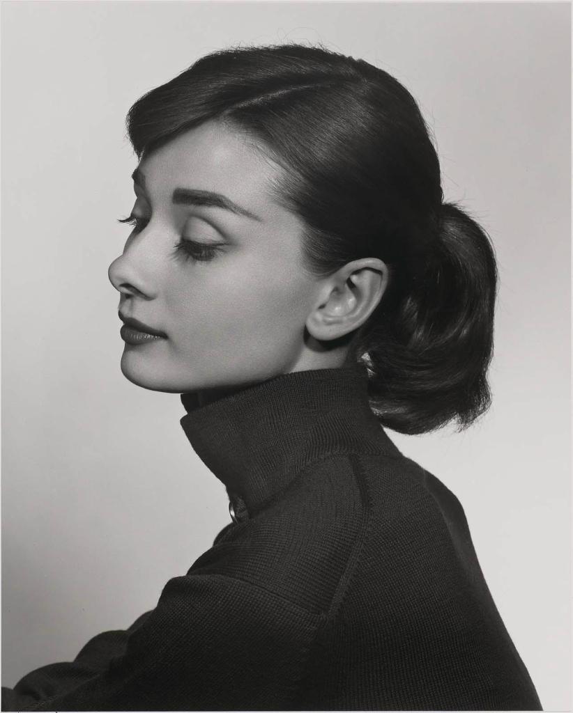Одри Хепберн1956 Юсуф Карш Канадский фотограф 1908-2002