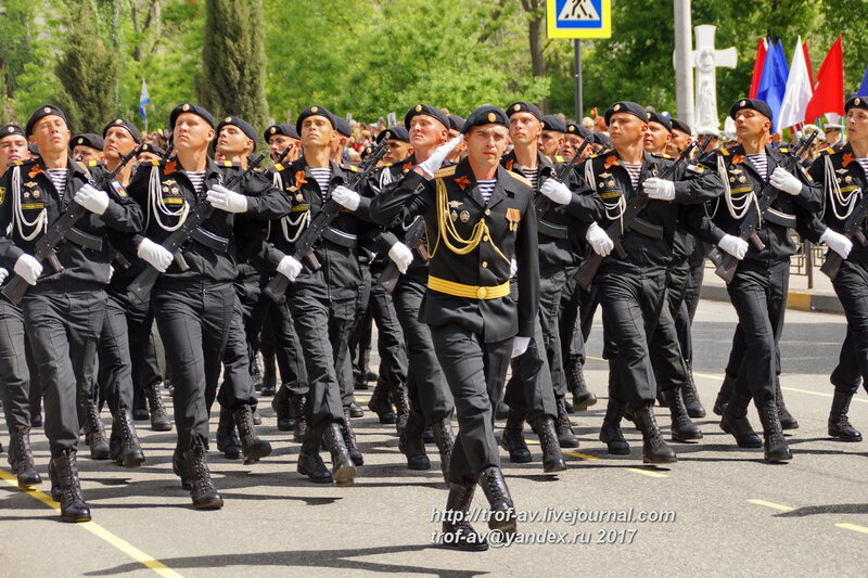 Парад Победы 2017, Керчь