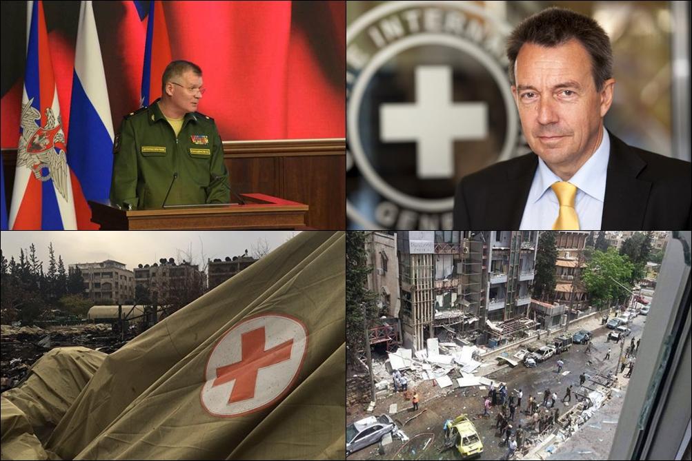 Комментарий МККК о гибели российских медиков в Сирии возмутил Минобороны РФ