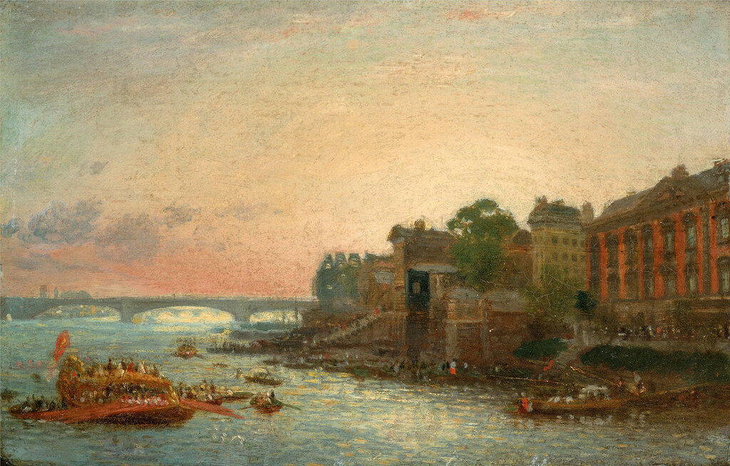 Сомерсет Хаус, Лондон  1825 год Фредерик Нэш