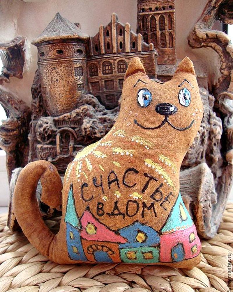Кофейный котик фото