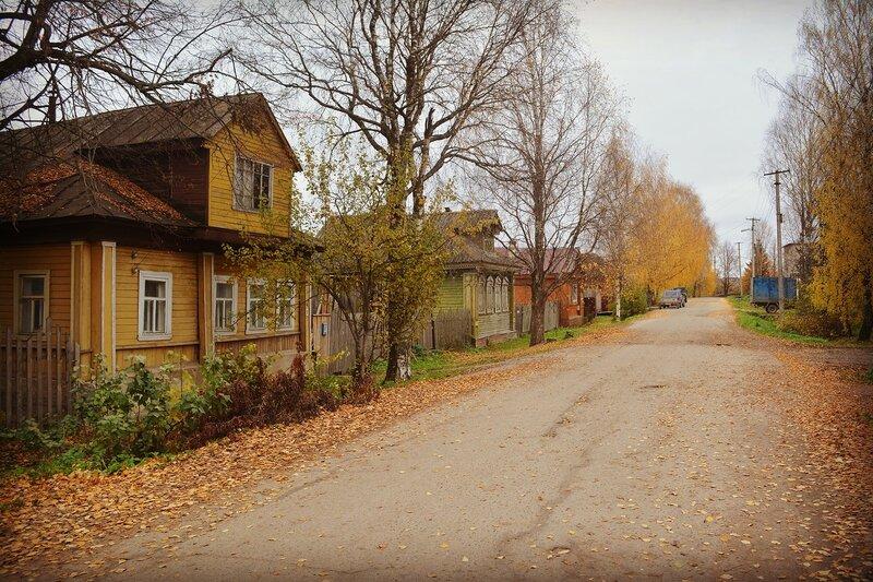Солигалич, Костромская область: одноэтажная деревянная Россия.