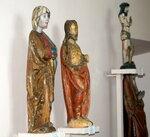 экспонаты музея из дерева