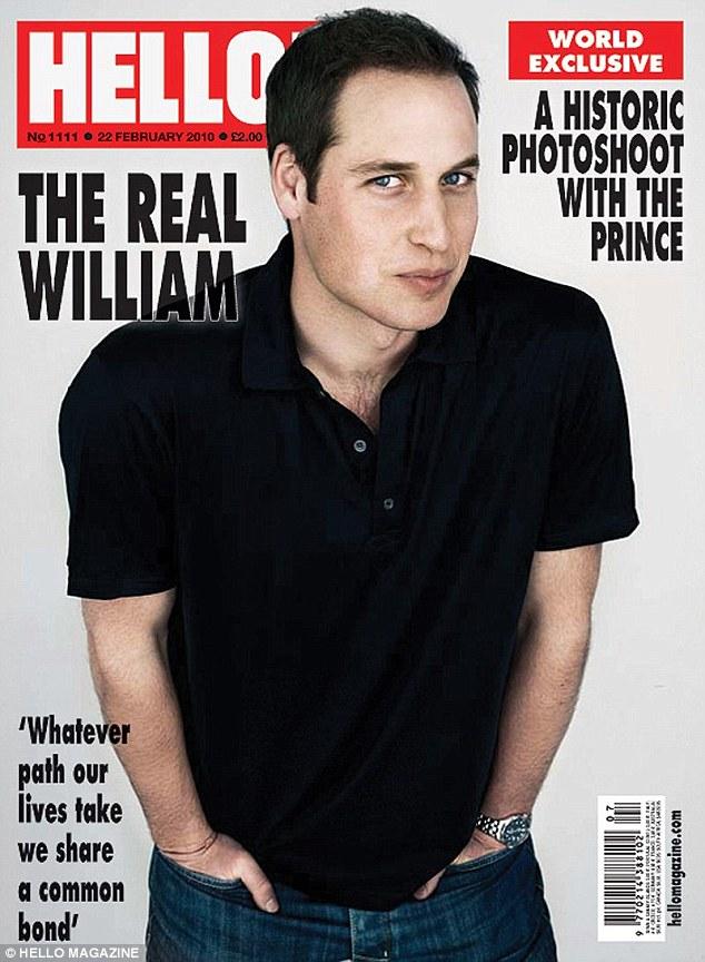 Блондина принца Уильяма почему-то сделали темнее, чем он на самом деле, да и волос на голове прибави