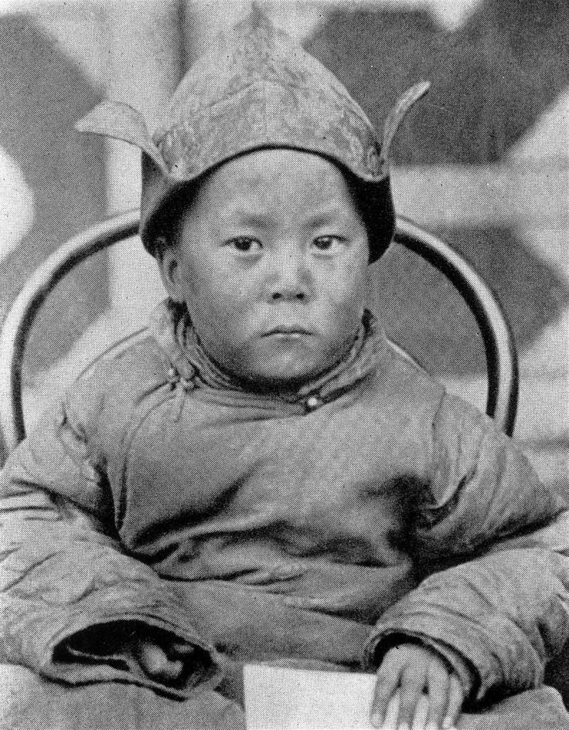 В возрасте 5-ти лет, 1940 год