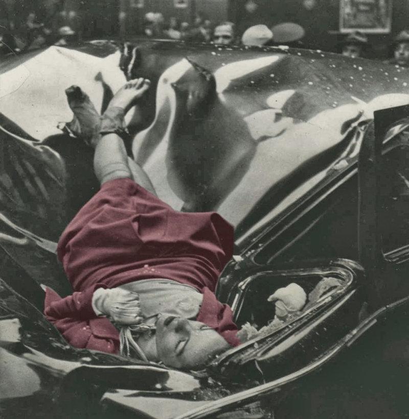 Снимок, который вошел в историю под названием «Самое красивое самоубийство».  Эвелин Макхейл