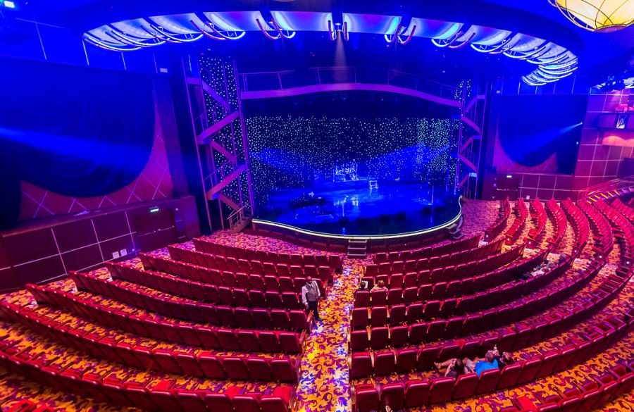 33. Центральный зал для шоу и концертов