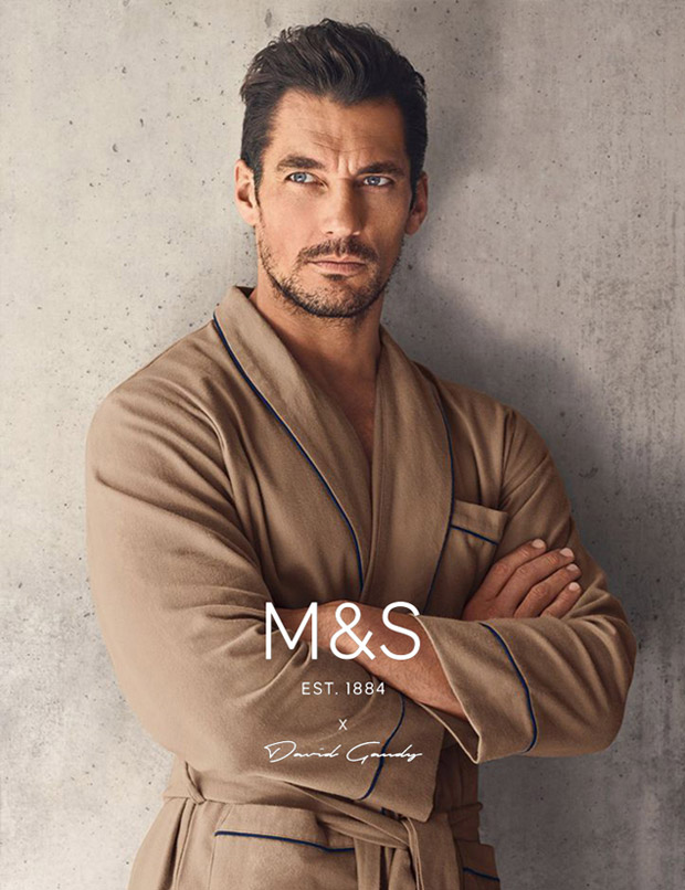 Дэвид Ганди для Autograph for Marks & Spencer