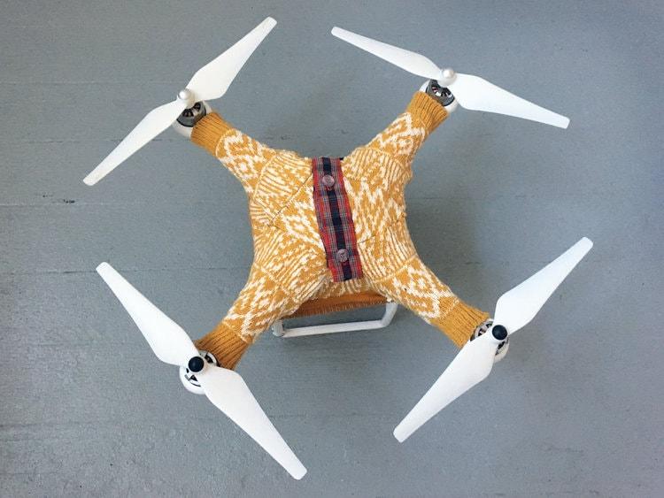 Баскин утверждает, что удержание тепла зависит от модели дрона, его размера и даже возраста, но без