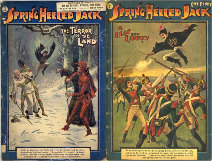 Легенда о Джеке-прыгуне до сих пор сохраняется в комиксах и театральных постановках. Зловещая об