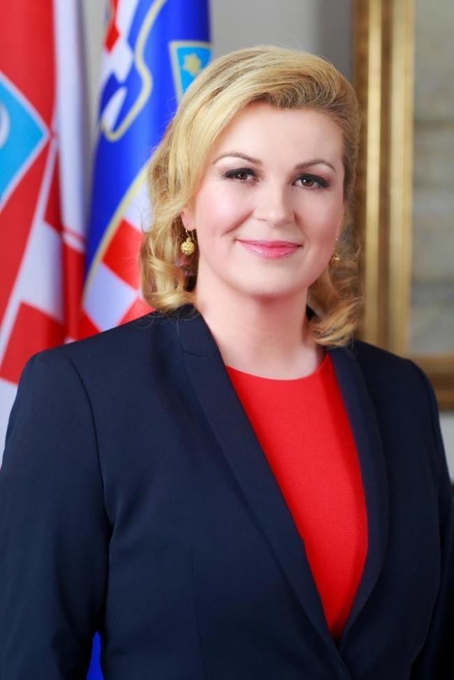 © Kolinda Grabar-Kitarovic  Колинда Грабар-Китарович— хорватский политический деятель, диплом