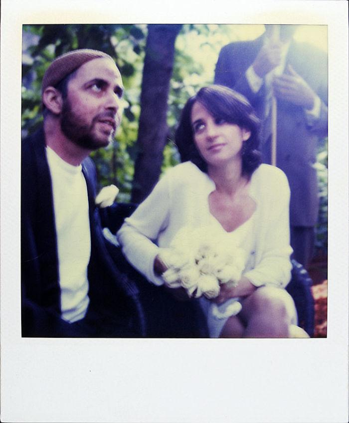 7 октября 1997 года: Джейми и его жена в день свадьбы.