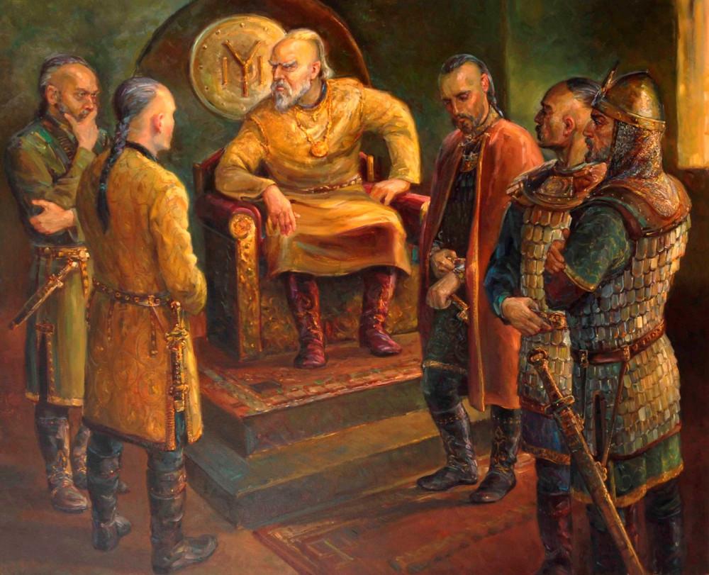 Живописная история Болгарии