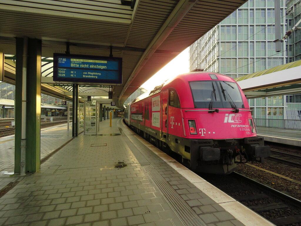 Поезд москва берлин стриж маршрут