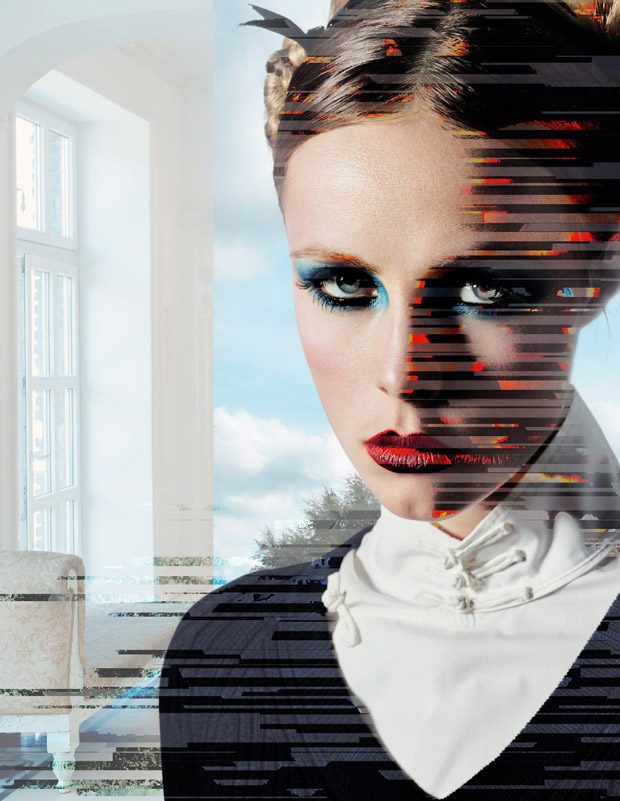 Edie Campbell & Birgit Kos Model Uniforms for System Magazine AW16