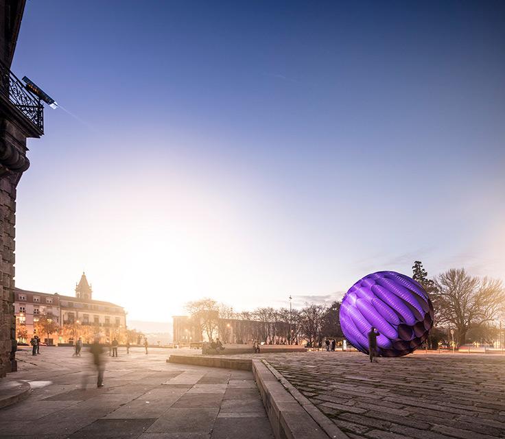 Breathtaking Design Sculpture in Porto (6 pics)