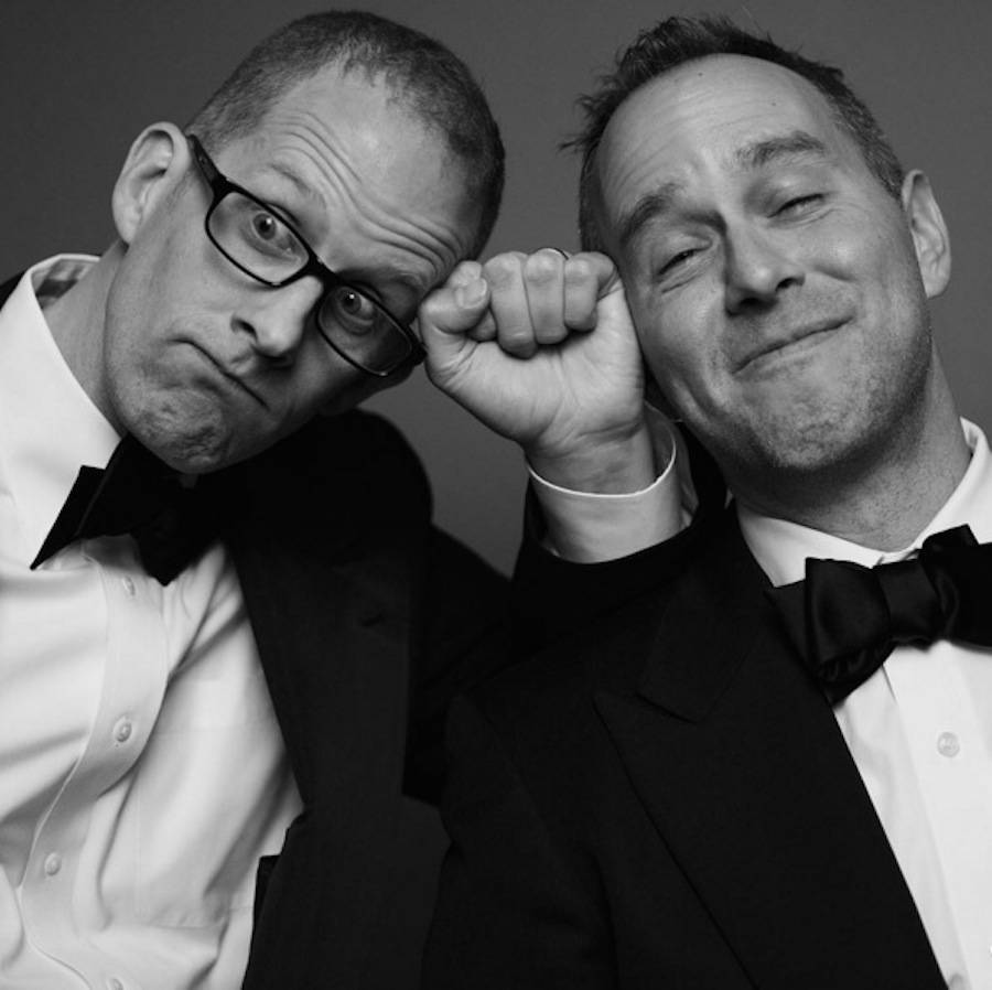Pete Docter & Jonas Rivera.
