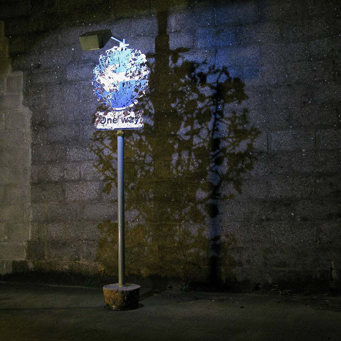 This artist transforms abandoned scrap metal into delicate plants!