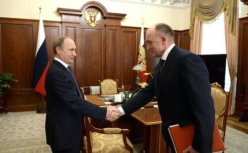 Губернатор Дубровский встретился с президентом Путиным