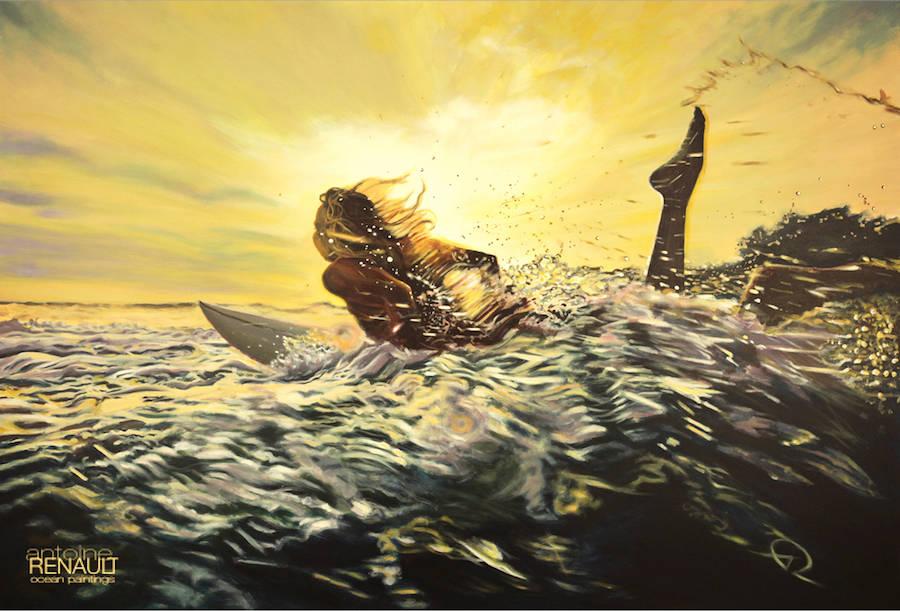 Refreshing Ocean Paintings