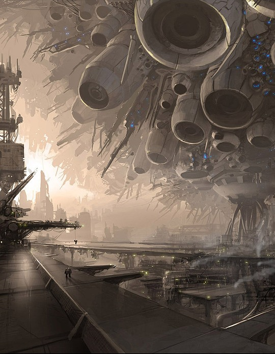 Breathtaking Concept Art by Maxim Revin