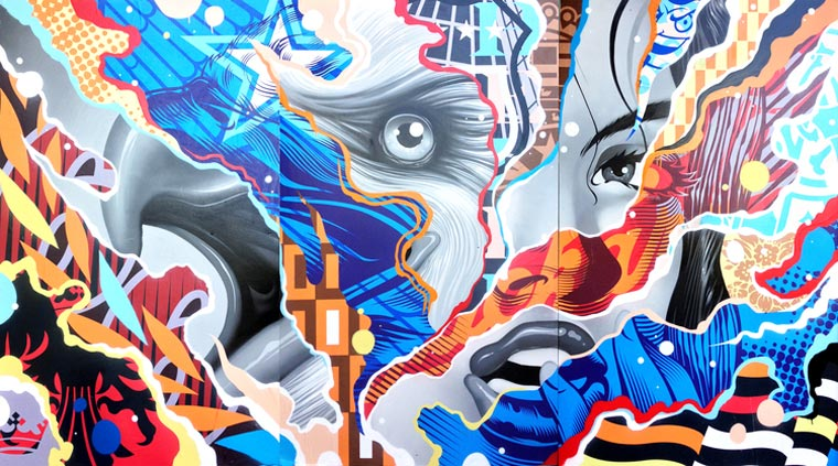Tristan Eaton - The street artist unveils Legacy, his new solo exhibition