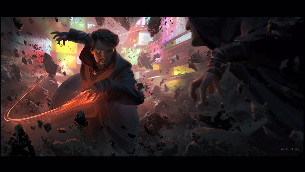 Doctor Strange Concept Art by Ryan Lang