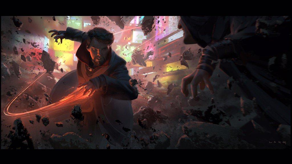 Doctor Strange Concept Art by Ryan Lang
