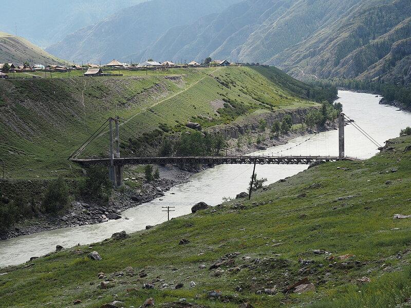 Алтай, Цаплинский мост (Altai, Tsaplinsky Bridge)
