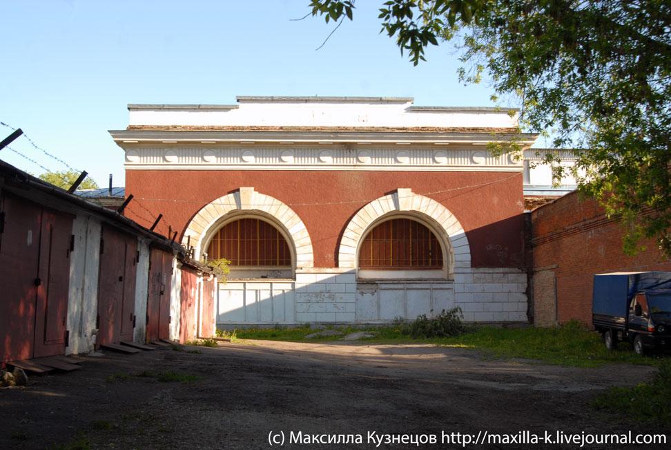 Бывший вестибюль метро Первомайская