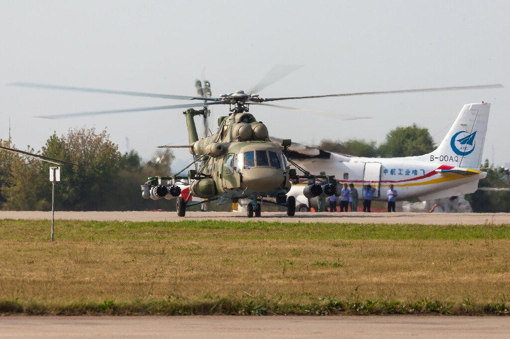 Руление Ми-8