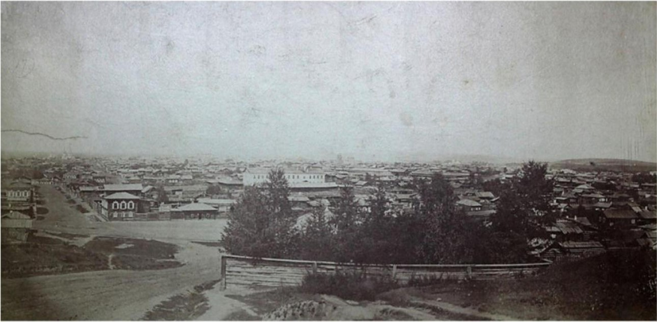 Вид города с Иерусалимской горы