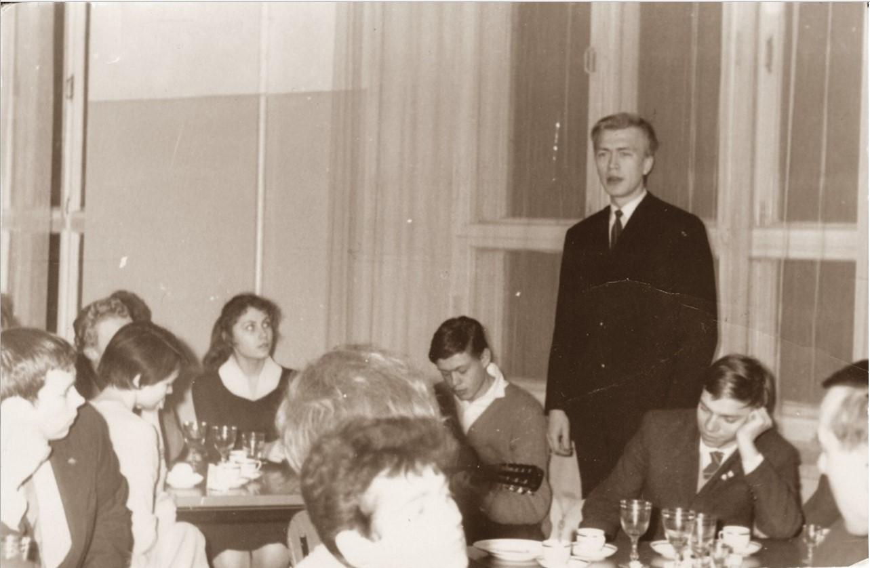 1964. Студенческий новогодний «Огонек»