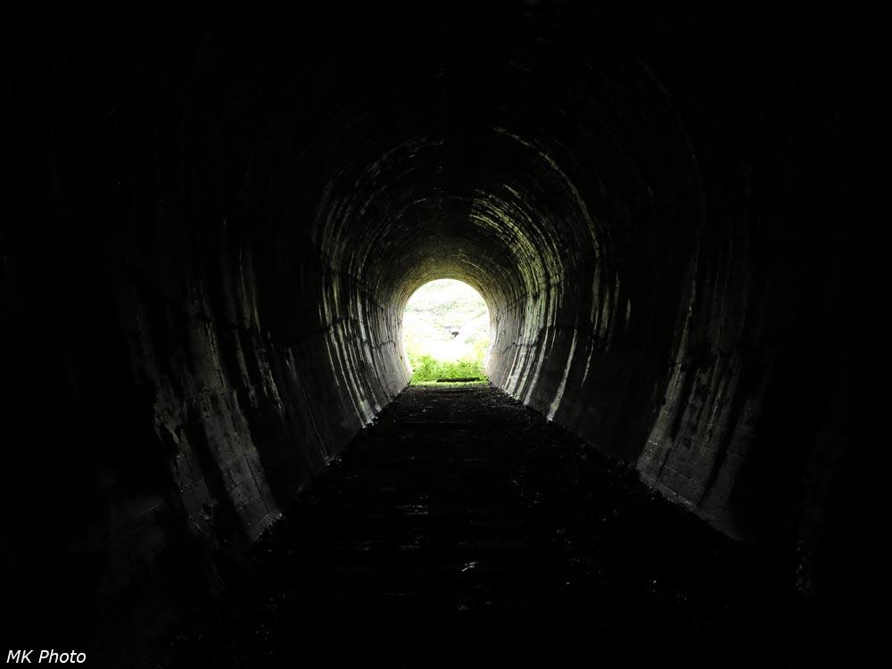 Вид из тоннеля 20 на тоннель 19
