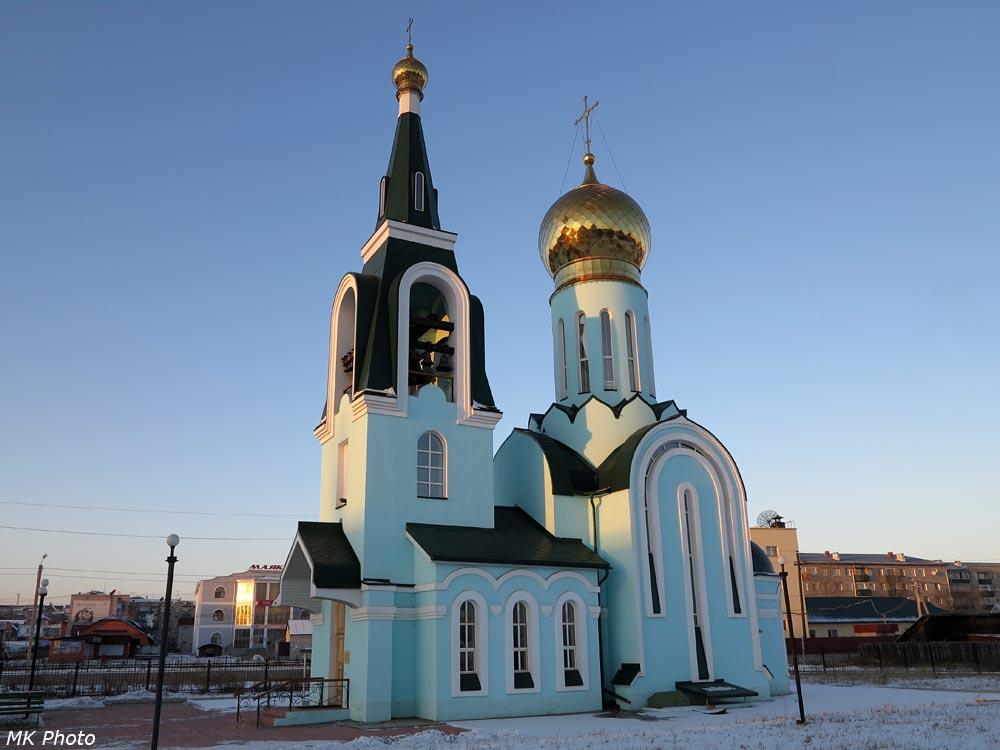 Церковь на станции Карымская
