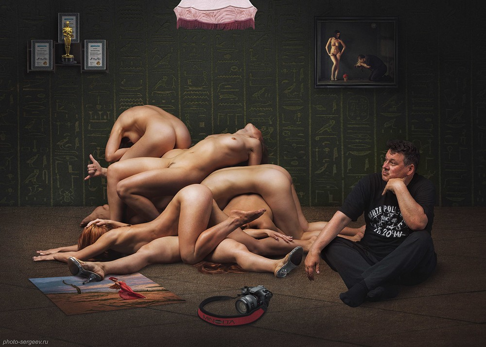 Девушки на снимках Александра Сергеева