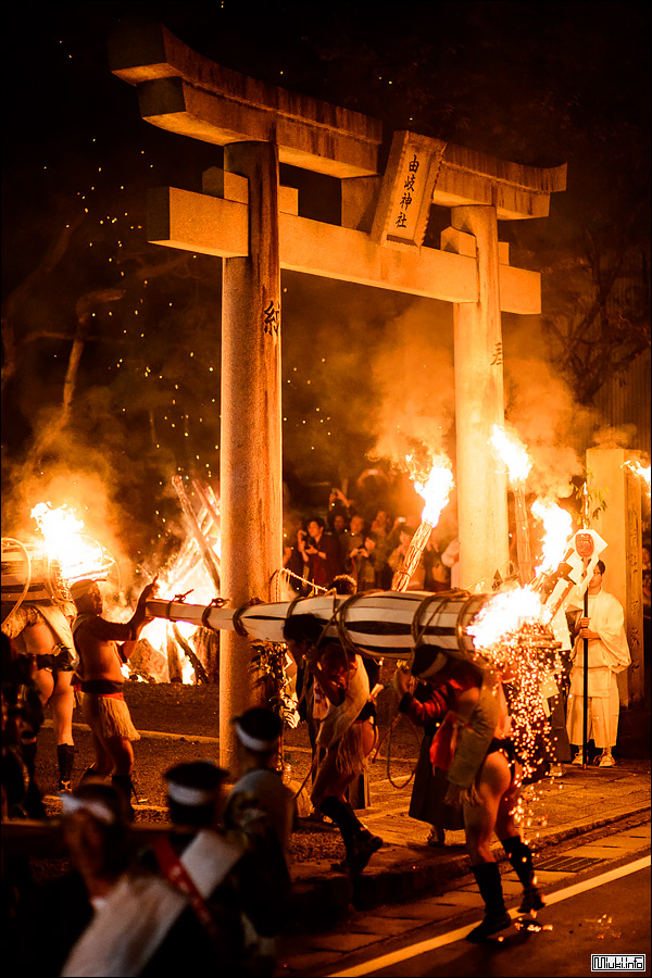 Фестиваль огня в Курама