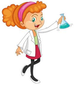 День Химика! Девушка с раствором!
