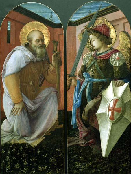 St. Anthony Abbot/St. Michael, 1458