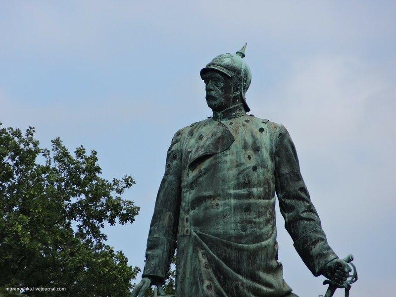 Второй день в Берлине: Шарлоттенбург, три основателя Германской империи и многое другое -