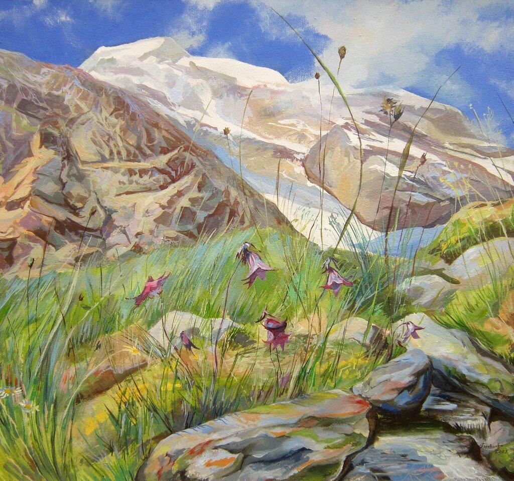 Оксана Анатольевна Киселёва (род. в 1983 году). Травы выше гор. 2005 год.